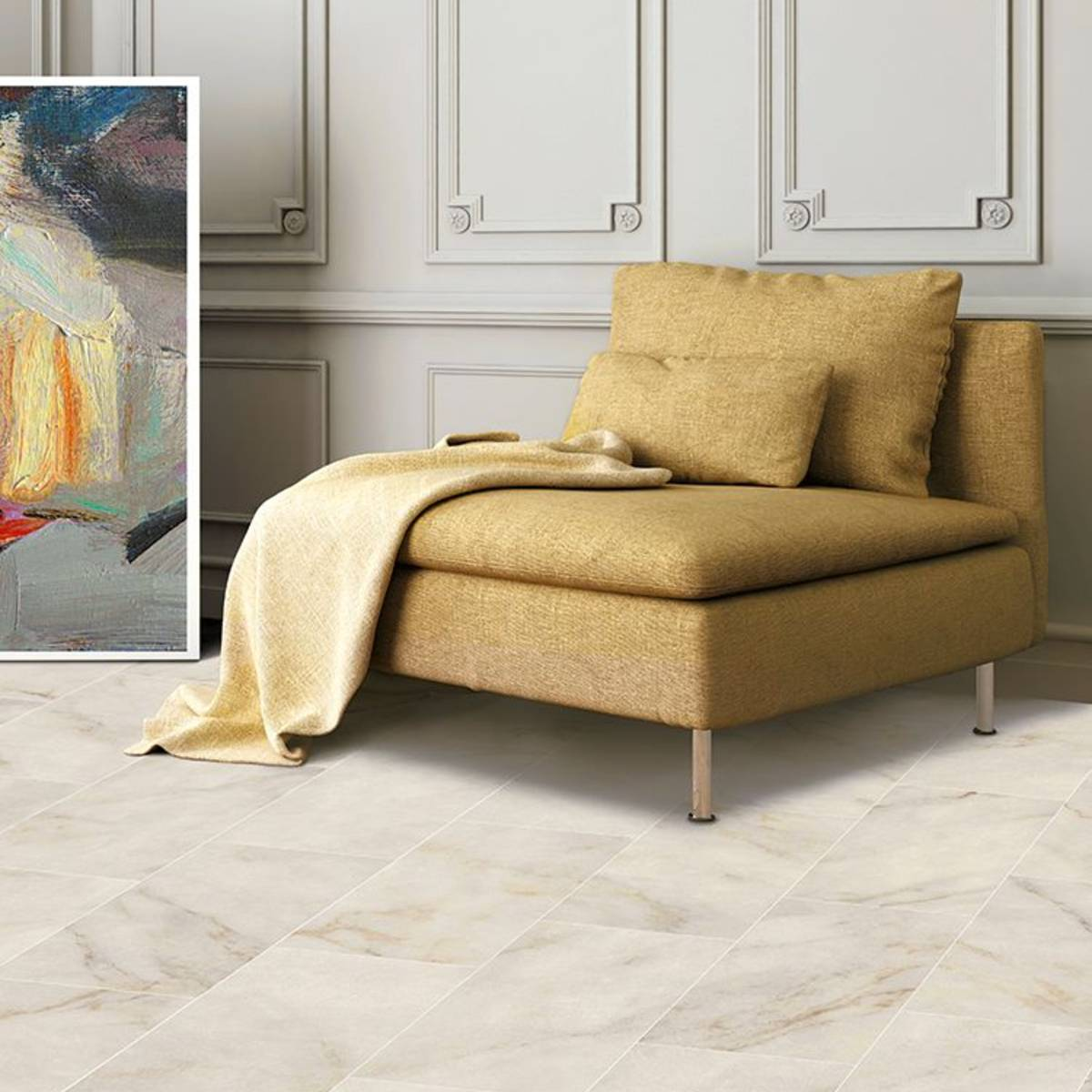 Antique Marble Calacatta Oro Porcelain