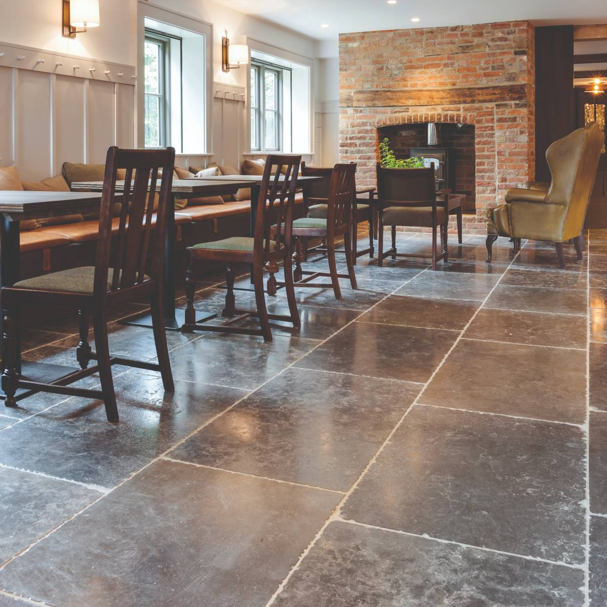 Hazlebury Limestone Seasoned